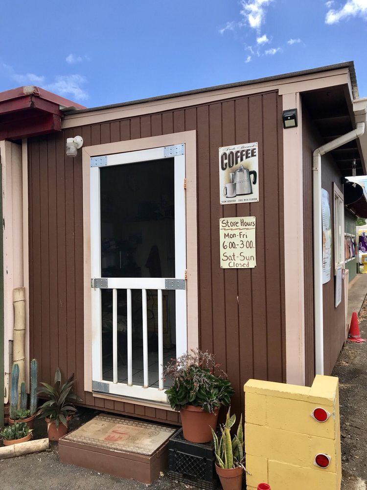 Java Hut: 9643 Kaumualii Hwy, Waimea, HI