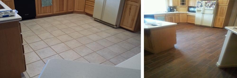 Before Amp After Using Mohawk Treyburn Tile Color Brown