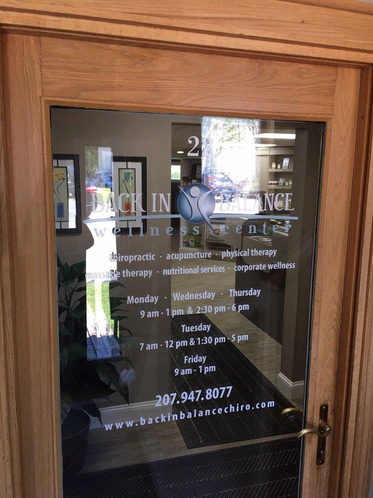 Back In Balance Wellness Center: 16 Penn Plz, Bangor, ME