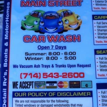 Costa Mesa Car Wash Th Street
