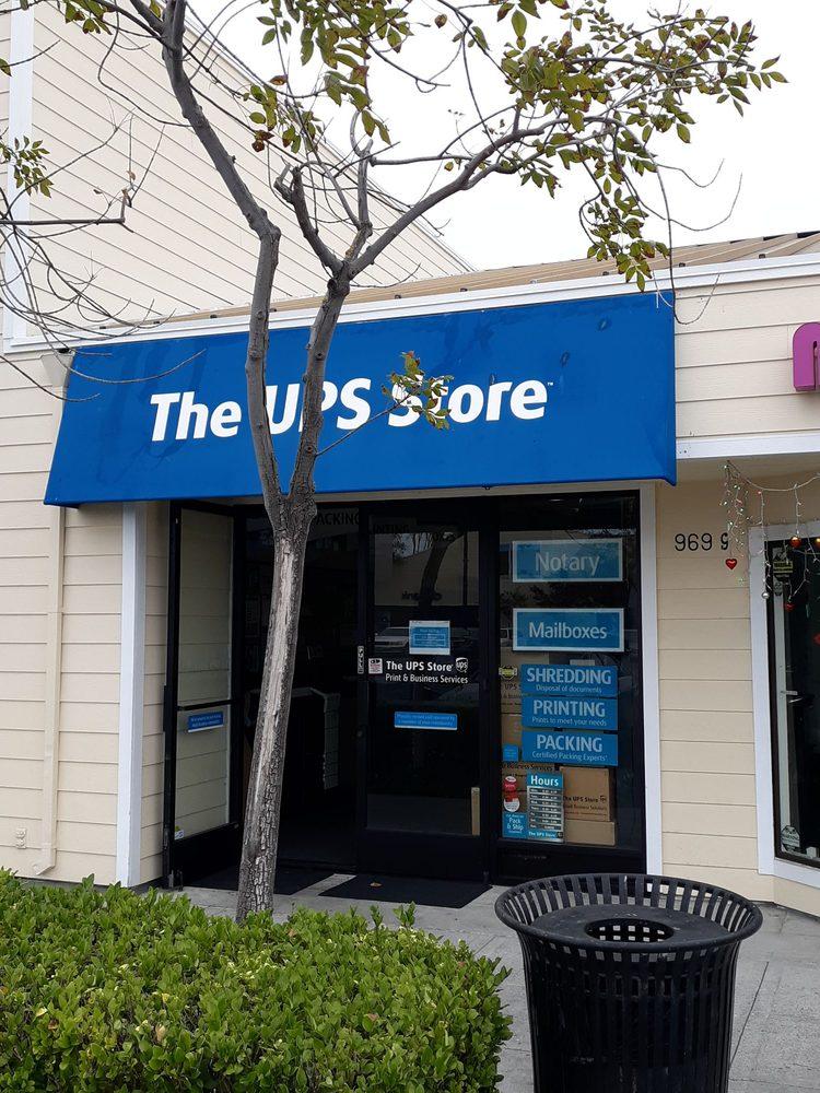 The UPS Store: 969-G Edgewater Blvd, Foster City, CA