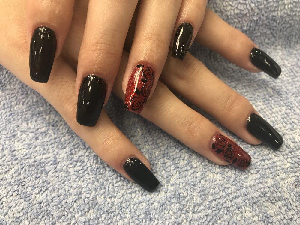 Valentine nail design by Ivy - Yelp