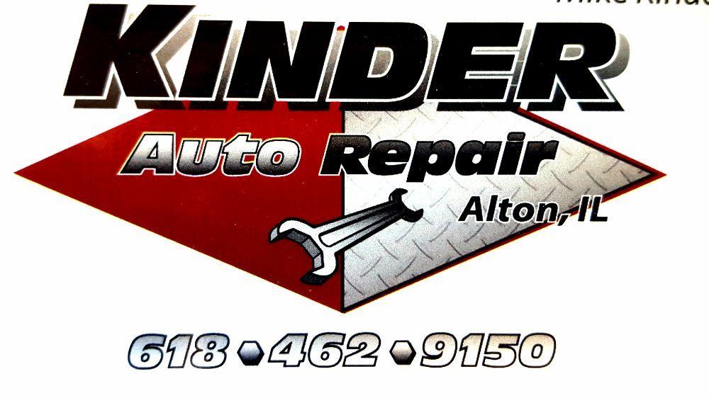 Kinder Auto Repair: 2700 Brown St, Alton, IL