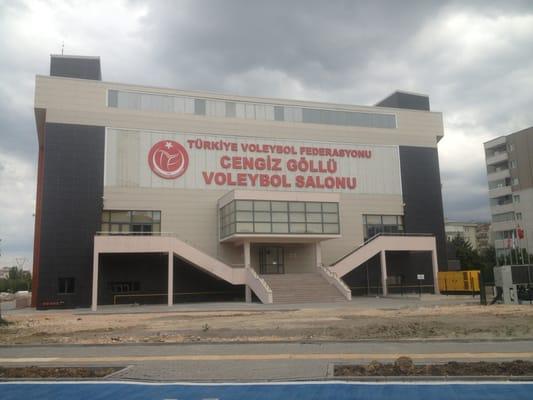 Cengiz g ll voleybol salonu stadyum arenalar atlas for S dugun salonu bursa