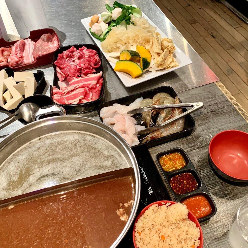 Food from Jaew Hon New York