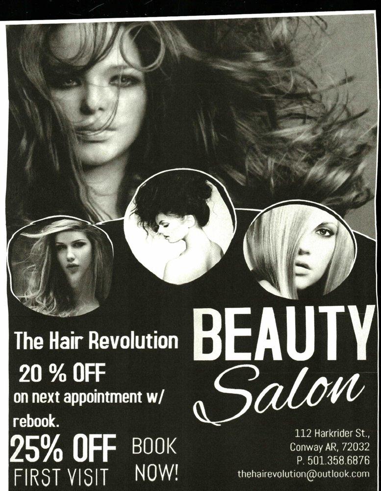 The Hair Revolution Hair Salons 112 Harkrider St Conway Ar