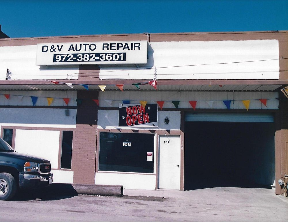 D & V Auto Repair: 106 N Louisiana Dr, Celina, TX