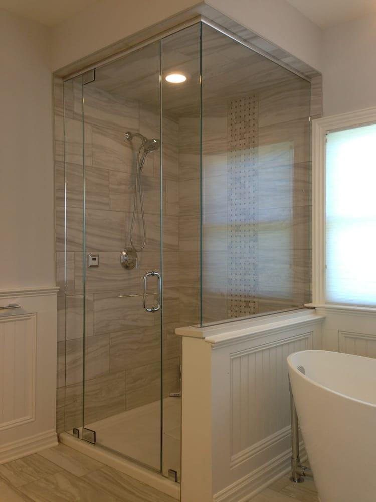 Showerman 21 fotos cristaler as 100 rt 9 n for Bathroom remodel yelp