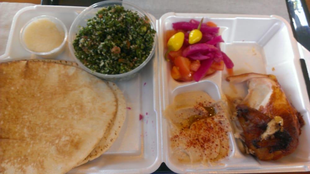 Food from Zankou Chicken