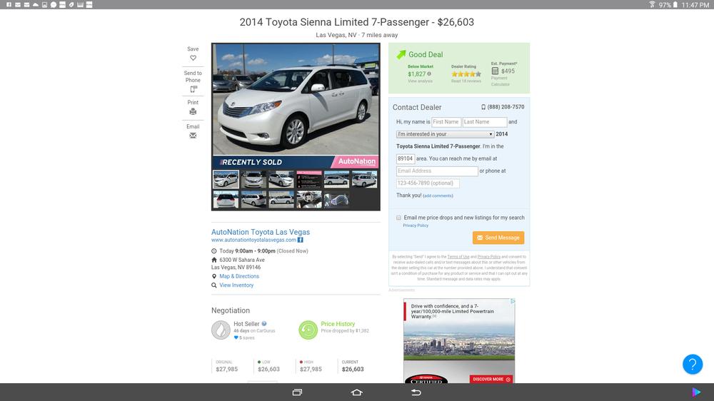 AutoNation Toyota Las Vegas   106 Photos U0026 494 Reviews   Car Dealers   6300  W Sahara Ave, Westside, Las Vegas, NV   Phone Number   Yelp