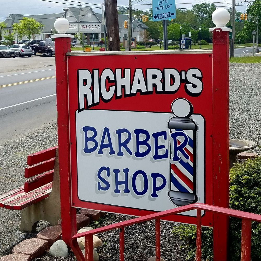 Richard's Barber Shop: 463 Route 9, Waretown, NJ
