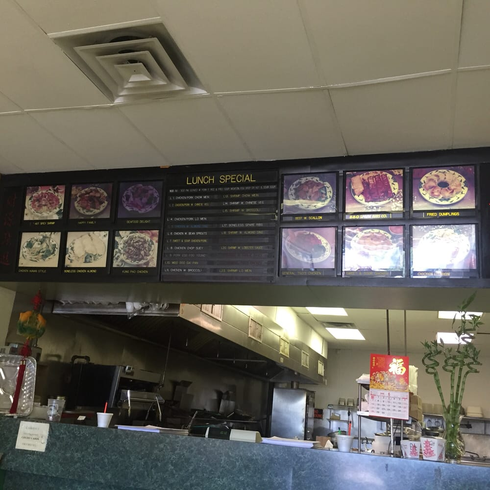 Menu And Front Counter