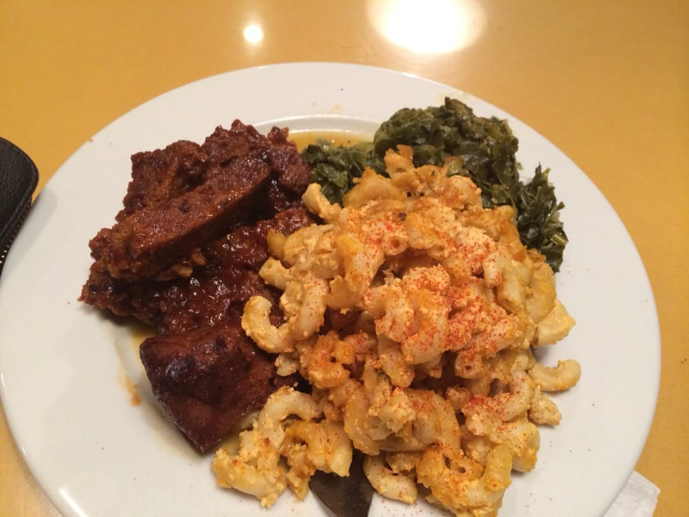 Photo Of Soul Vegetarian Restaurant Atlanta Ga United States Bbq Kalebone