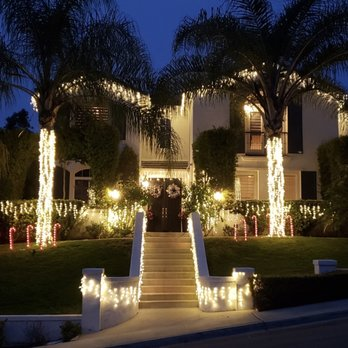 San Diego Christmas Lights.San Diego Sparkely Christmas Light Installation Holiday