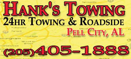 Hank's Towing Service: 19371 US Hwy 231, Pell City, AL