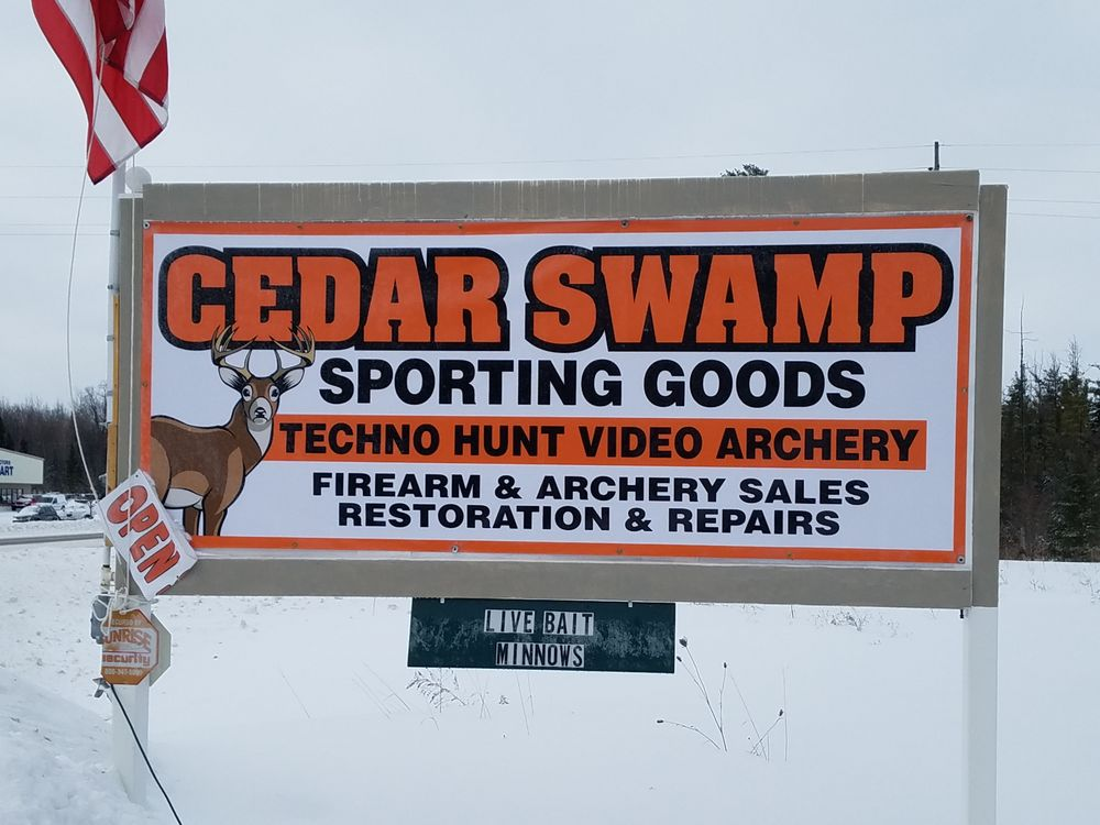 Cedar Swamp Sporting Goods: 2429 N US-31 Hwy, Petoskey, MI