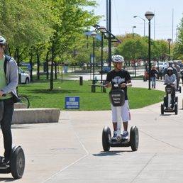 Segway Tours of Indiana are the most fun you can have on two wheels! Glide almost soundlessly through beautiful Downtown Indy and gain insights into the architecture, history and iconic sites along the Downtown Indy Canal Walk and through White River State Park.