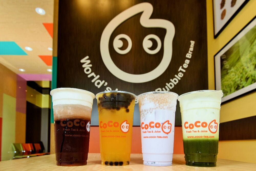 Black Tea Macchiato Bubble Gaga Sago Taro Milk Tea And