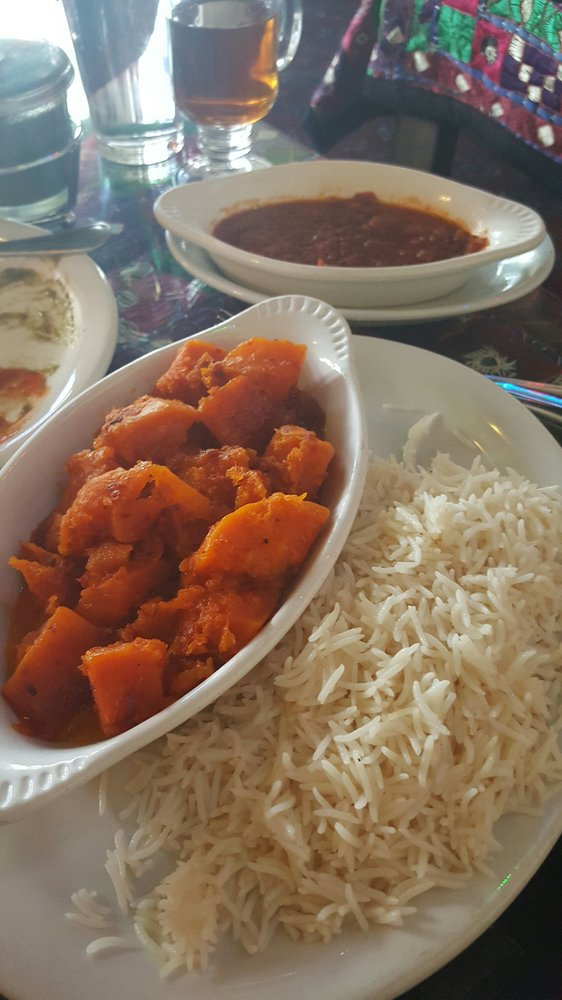Butternut squash dish with vegan sauce on the side yelp for Afghan cuisine fremont
