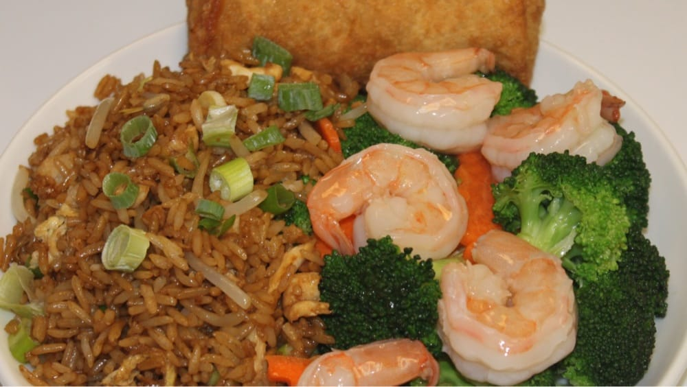 Shrimp With Broccoli Lunch Special Yelp