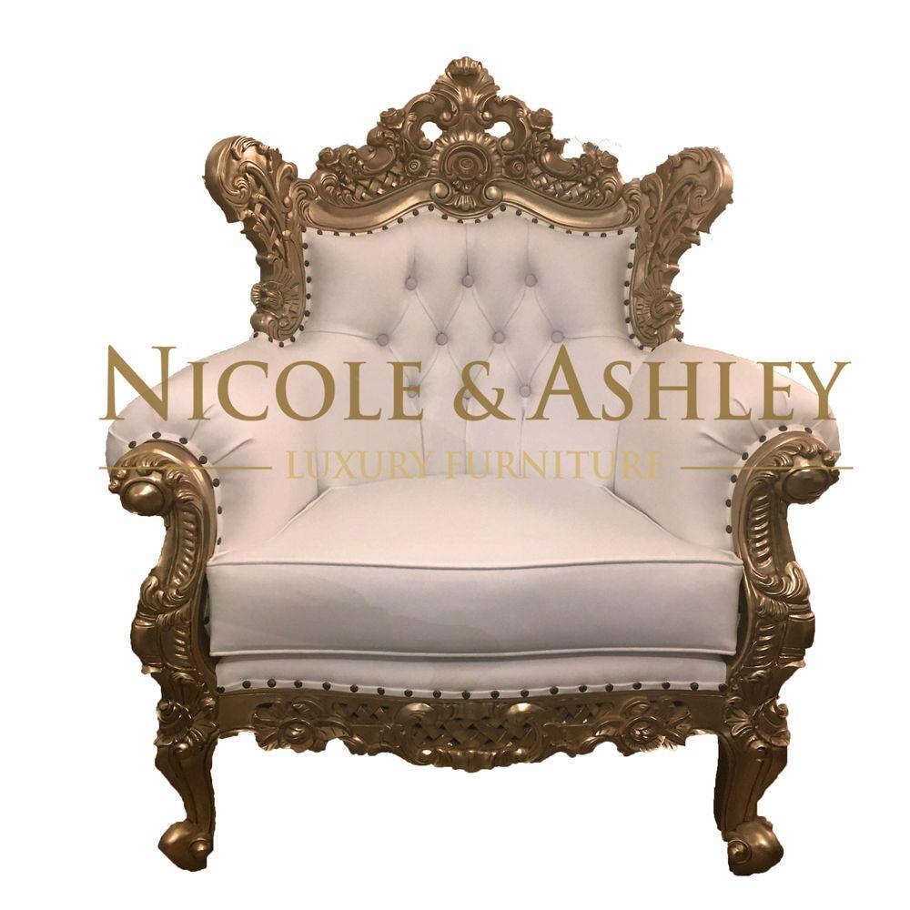Photo Of Nicole U0026 Ashley Luxury Furniture   Singapore, Singapore. Rococo  Chair