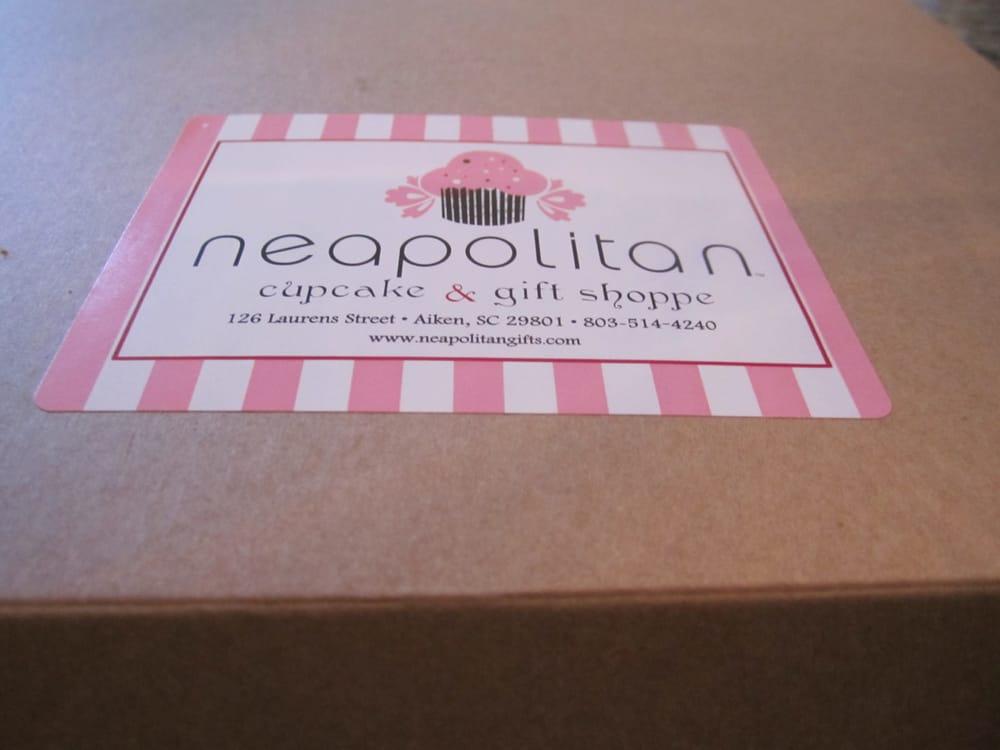 Neapolitan Cupcake Shoppe: 126 Laurens St NW, Aiken, SC