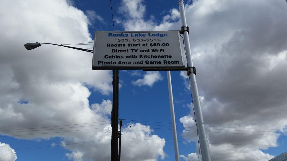 Banks Lake Lodge: 109 N 6th St, Coulee City, WA