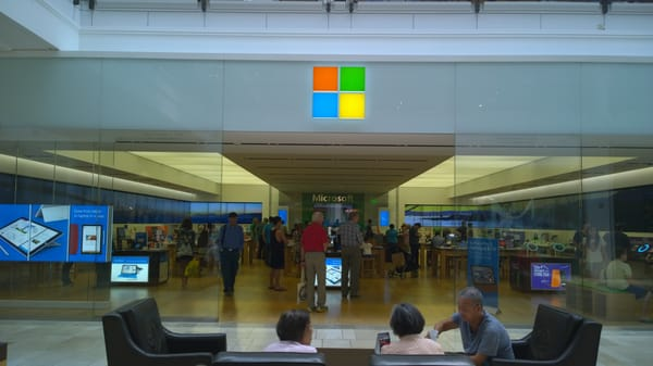 Microsoft Store is a chain of retail stores and an online shopping site, owned and operated by Microsoft and dealing in computers, computer software and consumer electronics.