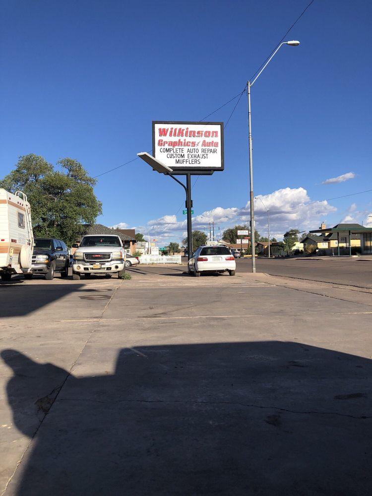Wilkinson Graphics and Auto: 404 W Hopi Dr, Holbrook, AZ