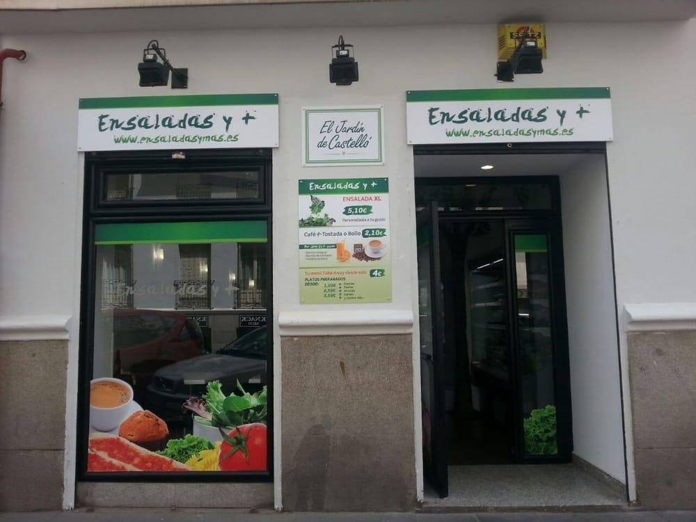 Ensaladas y m s calle de castell 52 salamanca - Calle castello madrid ...