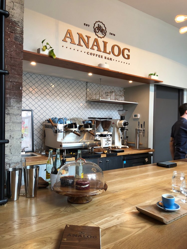 Analog Coffee Slow Bar: 107 E 9th St, Newport, KY