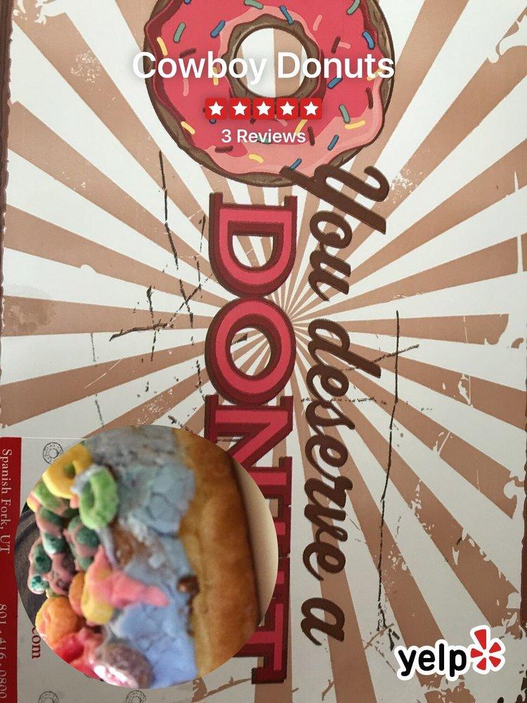 Cowboy Donuts: 1306 E Center St, Spanish Fork, UT