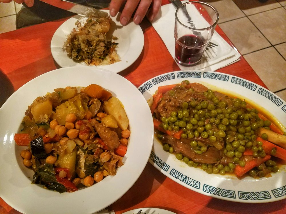 Chicken couscous and lamb tangine yelp for Aicha moroccan cuisine san francisco