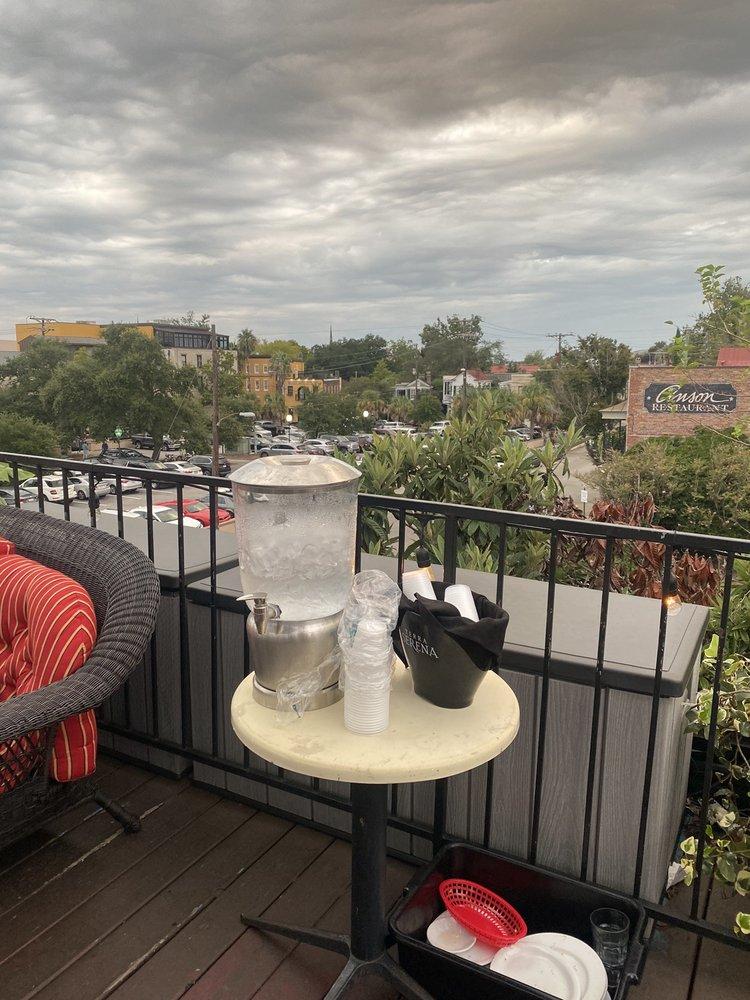 Henry's Rooftop Deck: 54 N Market St, Charleston, SC