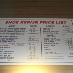Bon Shoe Repair Colorado Springs