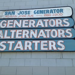San jose generator starter 18 reviews auto parts for United motors san jose
