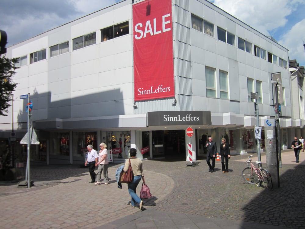 Sinnleffers Mode Großkölnstr 15 31 Aachen Nordrhein Westfalen