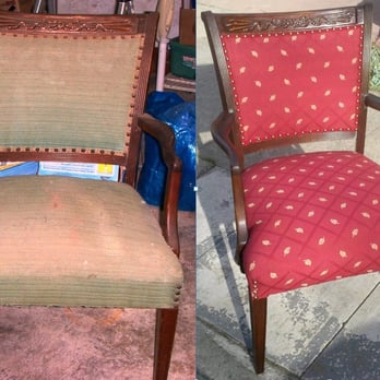 Photo Of J C Upholstery   Oakland, CA, United States. Abandoned Chair Given  A
