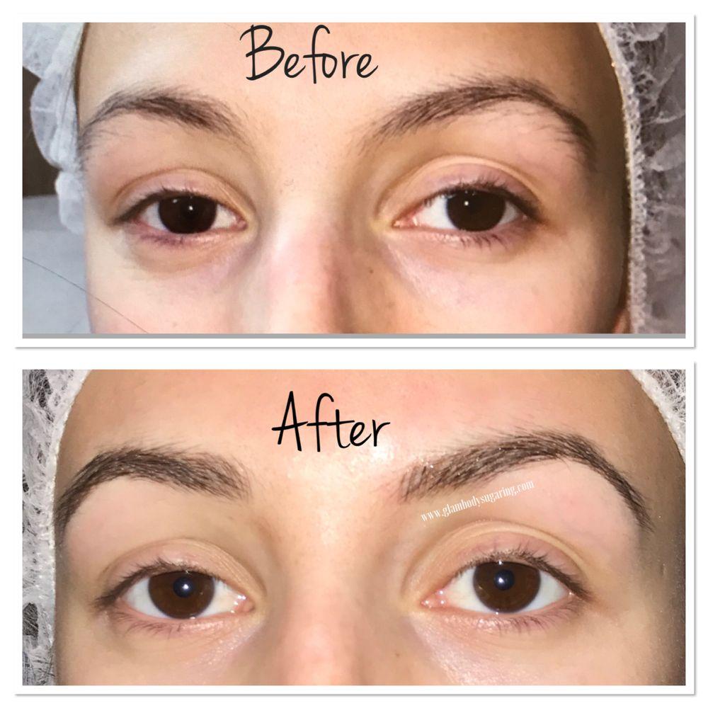 Microblading 3d Hairstrokes After First Session 4 6 Week Touch Up