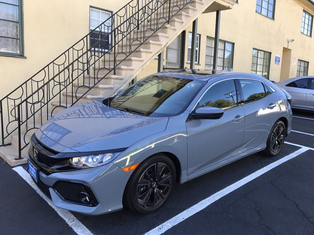 My new 2017 honda civic hatchback ex yelp for Honda downtown los angeles