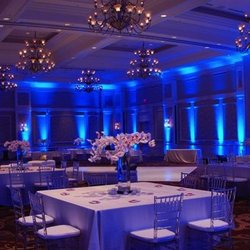 Photo of NYC Wedding Lighting - New York NY United States. Blue uplights  sc 1 st  Yelp & NYC Wedding Lighting - 13 Photos - Party Equipment Rentals - 160 E ... azcodes.com