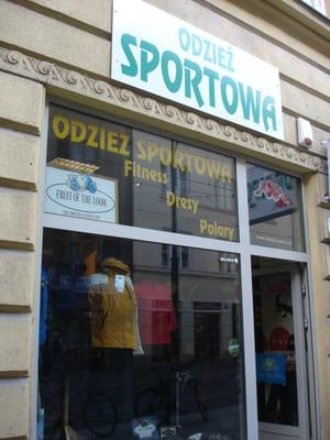 0377f864d5da28 Sklep sportowy - Sports Wear - ul. Długa 10, Śródmieście, Kraków ...