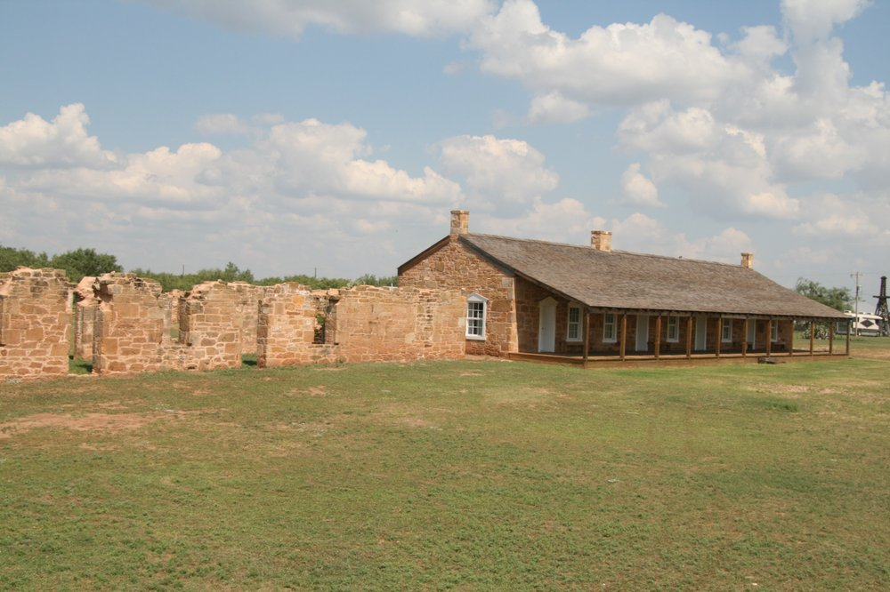 Fort Chadbourne: 651 Fort Chadbourne Rd, Bronte, TX