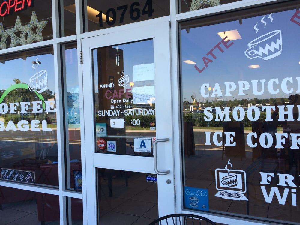 Cannolis Cafe Myrtle Beach Menu