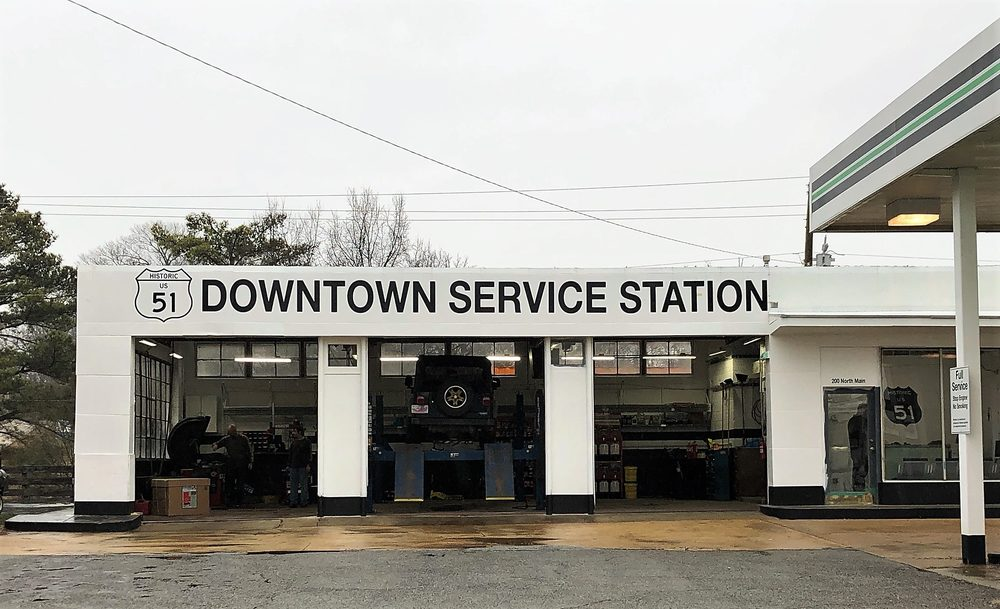 51 Downtown Service Station: 200 N Main Ave, Dyersburg, TN