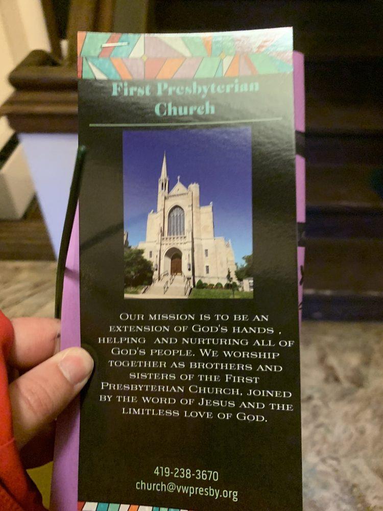 First Presbyterian Church: 110 W Crawford St, Van Wert, OH