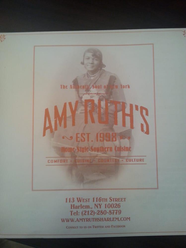 Amy Ruth S Restaurant New York Ny