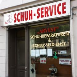 schuh und schl sseldienst arvest cobbler shoe repair. Black Bedroom Furniture Sets. Home Design Ideas