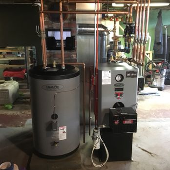 Pure Pro Trio Triple P Oil Fired Hot Water Boiler With