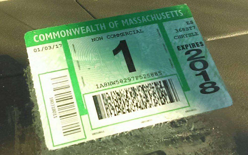 Chrysler January 2018 Inspection Sticker Yelp